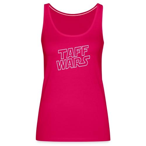 taffwars logo angle - Women's Premium Tank Top