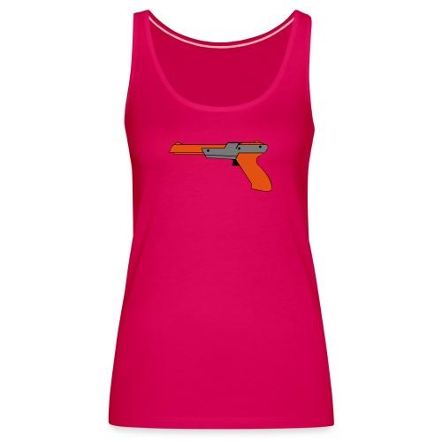 gun Zapper NES SUPER BROS HUNT DUCK - Débardeur Premium Femme