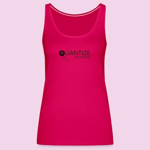 Quantize Black Logo - Women's Premium Tank Top