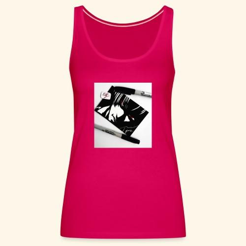 Death note - Camiseta de tirantes premium mujer