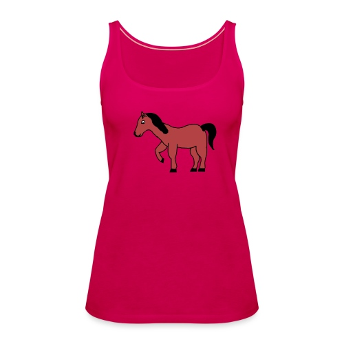 pferd Pony Reiten - Frauen Premium Tank Top
