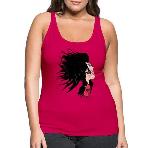 Catrina para chicas - Camiseta de tirantes premium mujer