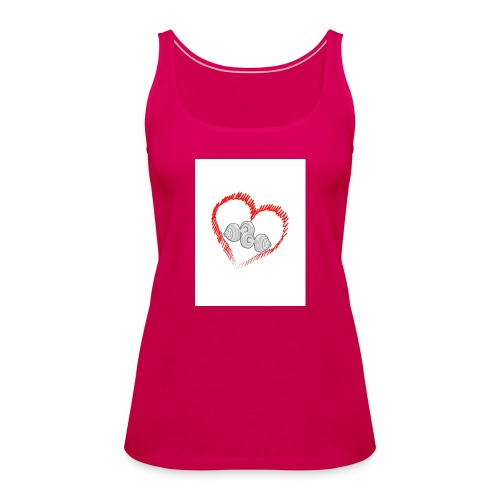 AMOR AL GYM - Camiseta de tirantes premium mujer