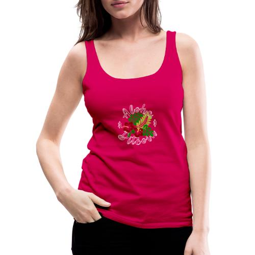 Aloha Bitcoin - Camiseta de tirantes premium mujer