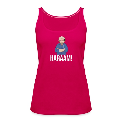 Haraam shirt - Women's Premium Tank Top