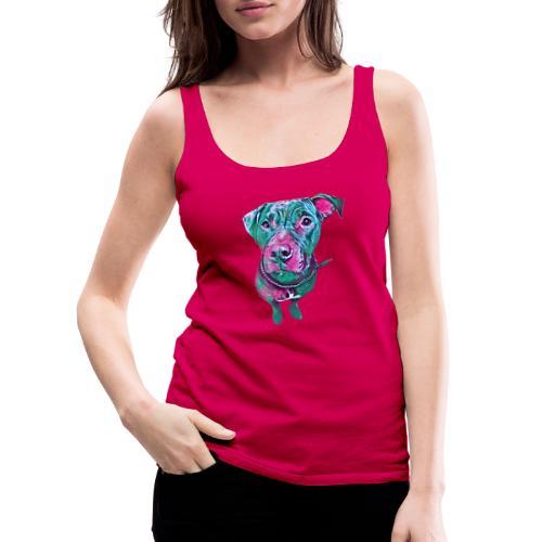 pitbull - Camiseta de tirantes premium mujer