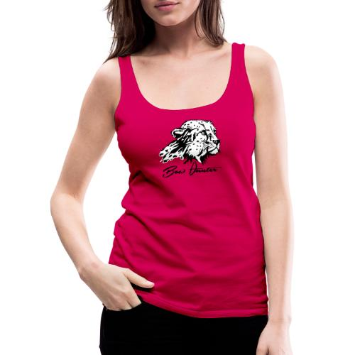 Bow Hunter Gepard 2 färbig - Frauen Premium Tank Top