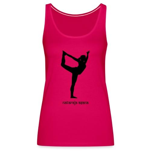 Yoga Nataraja Asana - Frauen Premium Tank Top