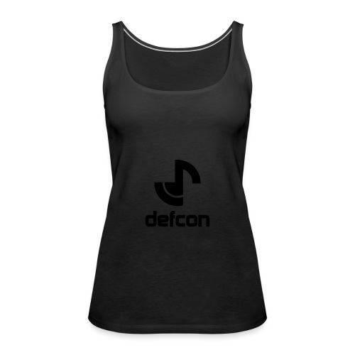 defcon logo and text vector2 - Women's Premium Tank Top