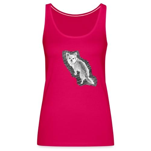Chihuahua gezeichnet - Frauen Premium Tank Top