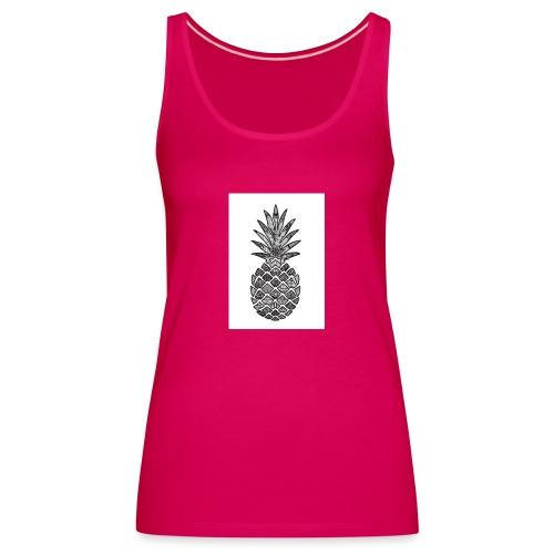 ananas - Premium singlet for kvinner