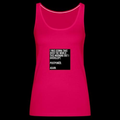 LOVE LIVE LAUGH...SASSY CLASSY - Women's Premium Tank Top