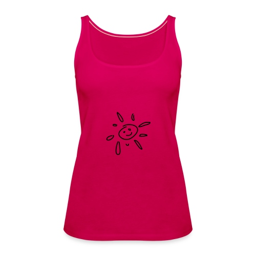 sonne smiley Strand Shop - Frauen Premium Tank Top