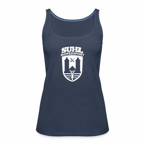 Suhl Mopedsport S50 / S51 Logo No.2 - Women's Premium Tank Top