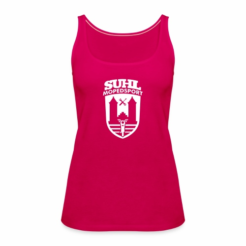 Suhl Mopedsport S50 / S51 Logo No.2 - Women's Premium Tank Top