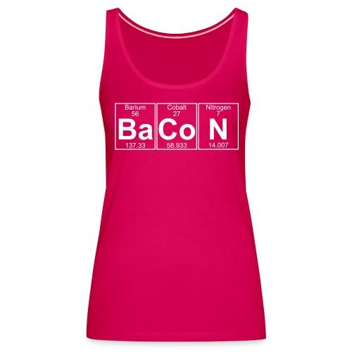Ba-Co-N (bacon) - Full - Women's Premium Tank Top