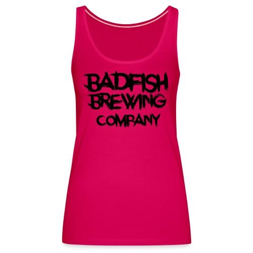 BadFish + Logo - Débardeur Premium Femme