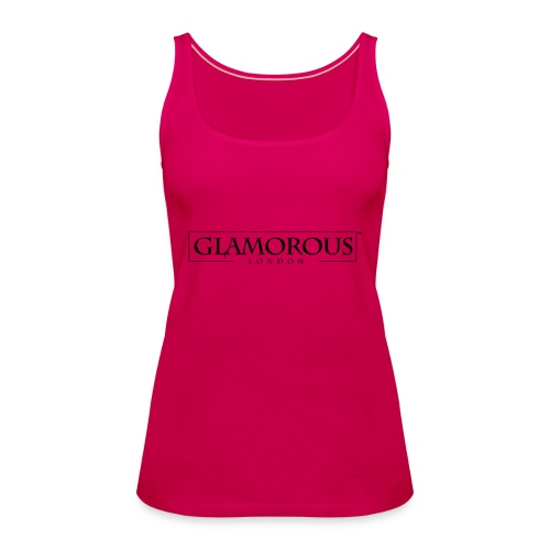 Glamorous London LOGO - Women's Premium Tank Top