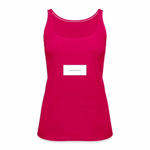 Think about things differently - Frauen Premium Tank Top