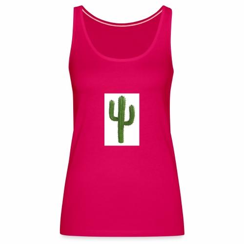 grune kaktus - Frauen Premium Tank Top