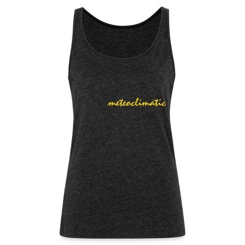 meteoclimatic - Camiseta de tirantes premium mujer