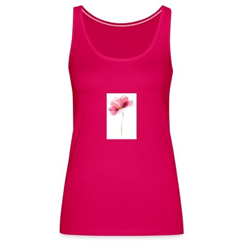 T-Shirt mit Blume - Frauen Premium Tank Top