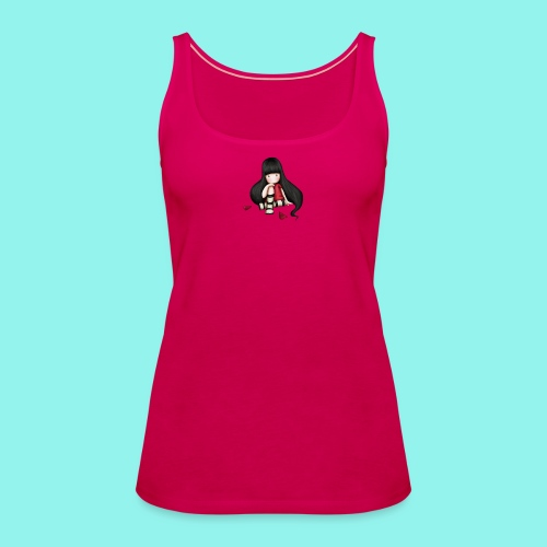 88 - Camiseta de tirantes premium mujer