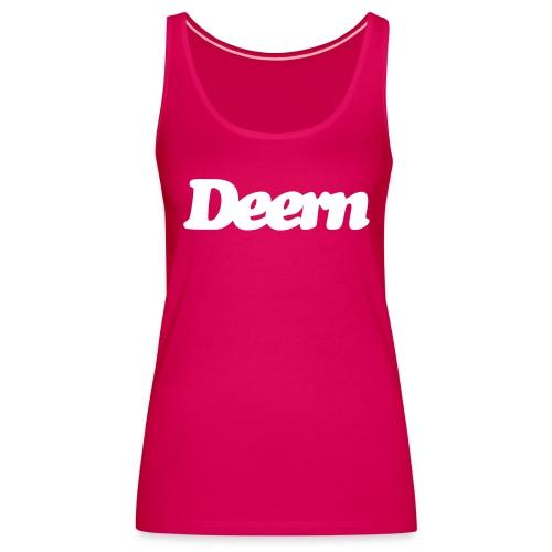 Comfort-T-Shirt Deern, weiss - Frauen Premium Tank Top