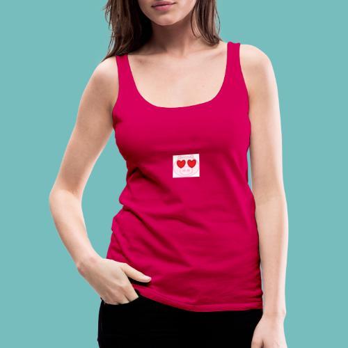 cerdito enamorado - Camiseta de tirantes premium mujer