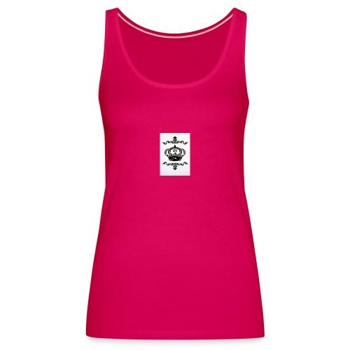 Schablone shabby Krone DIN A4 Wand Tisch Schra - Camiseta de tirantes premium mujer