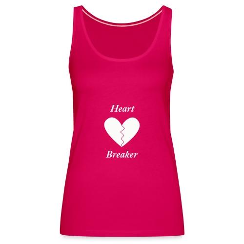 heart breaker png - Vrouwen Premium tank top