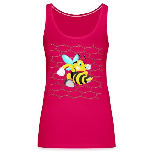 Abeja Guerrera 2 - Camiseta de tirantes premium mujer
