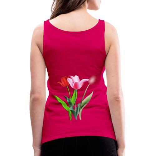 summer floral collection - Canotta premium da donna