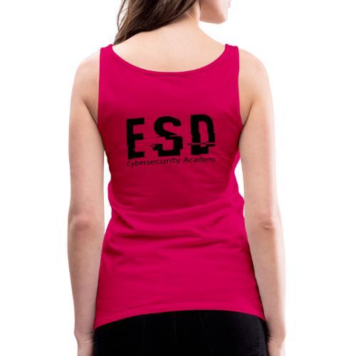 Design ESD Cybersecurity Academy - Débardeur Premium Femme