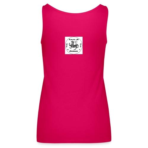 KDD Logo schwarz jpg - Frauen Premium Tank Top