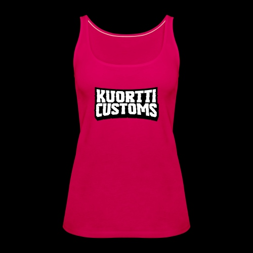 kuortticustoms_logo_simpl - Naisten premium hihaton toppi