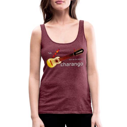 De los ANDES - Charango II - Camiseta de tirantes premium mujer