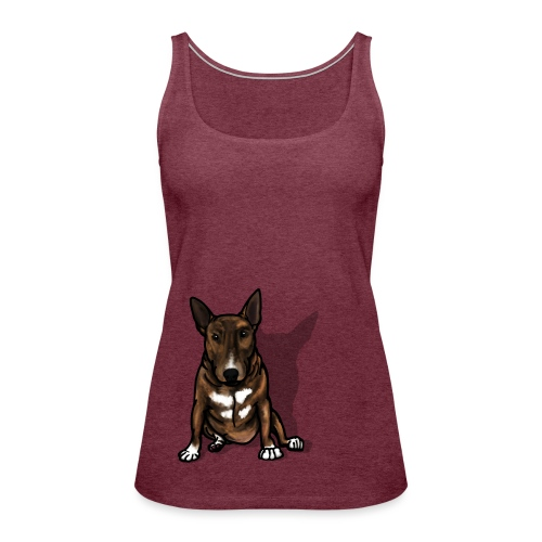 Bruce The Bully - Women's Premium Tank Top