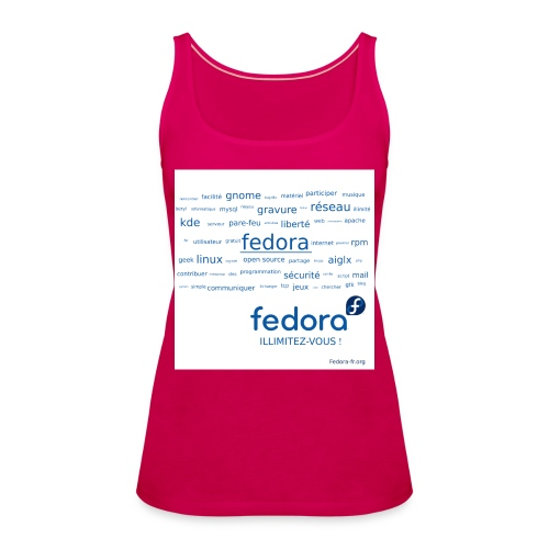 fedora tags - Débardeur Premium Femme