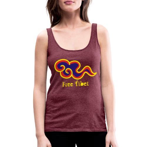 Free Tibet - Camiseta de tirantes premium mujer