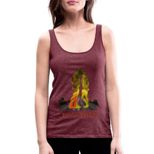 Together -by- T-shirt chic et choc - Débardeur Premium Femme