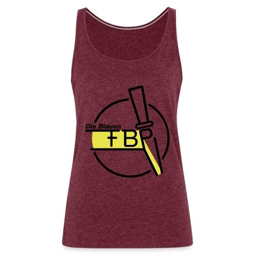 FBP Logo, offizielles Logo der Freibierpartei - Frauen Premium Tank Top