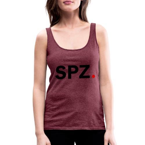 SPZ med prikk outlines Sort - Premium singlet for kvinner