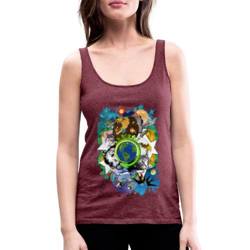Terre Mère Nature (Fr) -by- T-shirt chic et choc - Débardeur Premium Femme