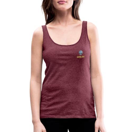 Golty Alien - Camiseta de tirantes premium mujer