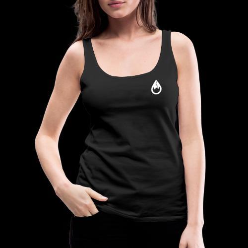 WS-Crew Tropfen-Logo weiß - Frauen Premium Tank Top