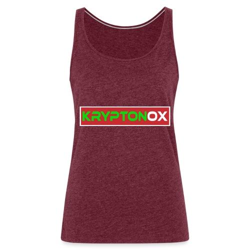 Kryptonox Logo - Women's Premium Tank Top