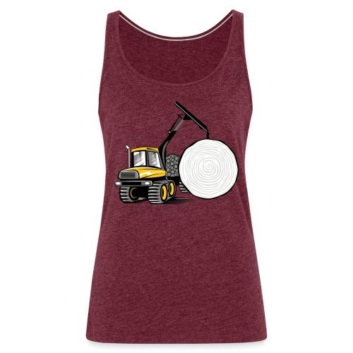 Kuormatraktori t paidat, hupparit, lahjatuotteet - Naisten premium hihaton toppi