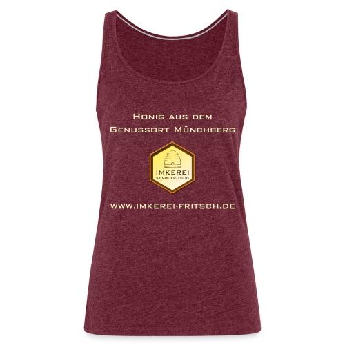 Imkerei Kevin Fritsch - Genussort Honig - Frauen Premium Tank Top