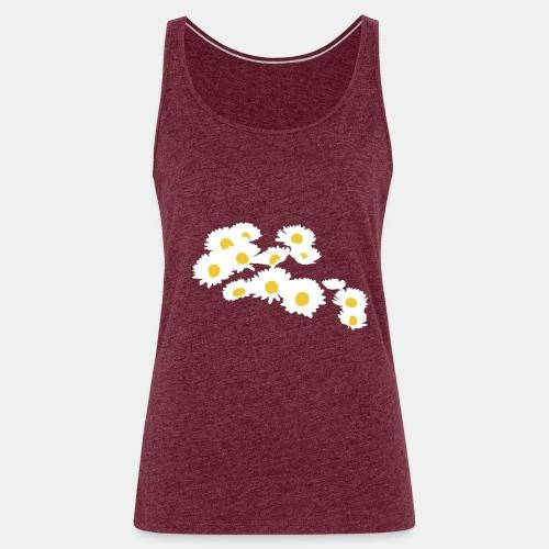 Spring Season Daisies - Women's Premium Tank Top